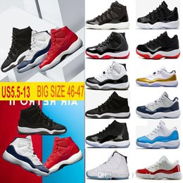 Wholesale Good Jams - Good Quality 11 Mens Basketball Shoes Space Jam 45 Gym Red Midnight Navy Win Like 82 Womens youth 11s XI Sneakers US5.5-13