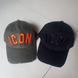 Wholesale Icon Logo - 2018 top embroidery ICON Logo Cap Baseball hats caps for men snap back bones brand hat Dad Hat