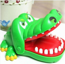 Wholesale Wholesale Alligator Toy - Hot Sell Creative Practical Jokes Mouth Tooth Alligator Hand Children's Toys Family Games Classic Biting Hand Crocodile Game