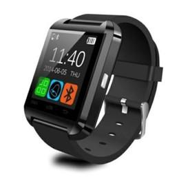 710f85f20f9 Relógios de Pulso U8 Smartwatch Bluetooth Tela Sensível Ao Toque Para i7 S8  Android Telefone Monitor de Sono Relógio Inteligente Com Pacote de Varejo  ...