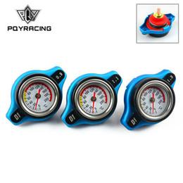 /11 спецификации гоночных Термостатический крышка, радиатор крышка + температура воды датчик 0.9 бар/бар 1.1/1.3 бар крышка (малый размер) PQY-DRC09/13 cheap temp cover от Поставщики временная крышка