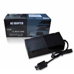 Xbox One блок питания кирпич, [Advanced QUIET VERSION] адаптер питания переменного тока зарядное устройство замена шнура для Xbox One 100-240 В, Черный от