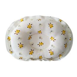 Formes plates en Ligne-Bébé formant oreiller coton oreiller empêchent tête plate bébé garçon mignon fille dormant literie coton doux