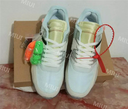 Wholesale Zip Up Ties - 2018 Off 90 Ice 1X AA7293-100 Casual Shoes for Women Men Oregon USA Cystal Sneakers With Box Laces Zip Tie Size 36-45