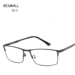 4282f9d50b gold spectacle frames NZ - KESMALL Newest Hot Retro Computer Glasses Frame  Women Clear Lens Eyewear