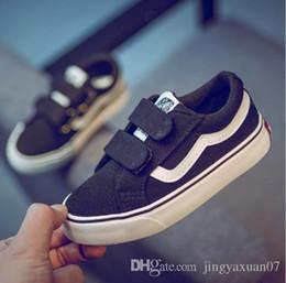 Niños de lona blanca online-zapatos para niños zapatos de lona nuevos para niños zapatos blancos s and women s calzados mágicos calzados informales