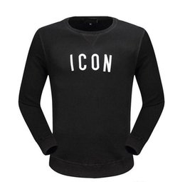 Wholesale Icon Shorts - New Fashion Women and Men ICON Printing Top Sweatshirts Jacket Long Sleeve hoodie Shirts Coat