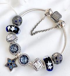 Bracciale in cristallo pieno austriaco con diamanti Bracciale in argento con pietre preziose placcato Cristallo facoltativo Bracciale in cristallo multicolore maxi statemet da branelli d'argento sterlina del cuore blu fornitori