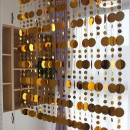 2019 rideaux de porte pvc La décoration intérieure de la maison de rideaux de paillettes d'or fournit la décoration de partition de café de chambre de dessin animé de rideaux de porte promotion rideaux de porte pvc