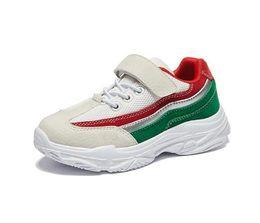 Children s fell running shoes online-Calzado deportivo para niños Otoño 2019 Nuevo Net Cloth permeable al aire Boys'Running Shoes WL70