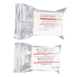 wick rda cotone giapponese Sconti Mini pacchetto autentico giapponese puro cotone organico stoppini tessuto di cotone Giappone da MUJI per fai da te RDA RBA atomizzatore Ecig bobina 10 pz / lotto