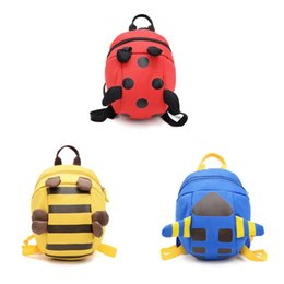 Animais bonitos Kid Criança Mochila Anti Lost Leash Harness Kindergarten School Bag de