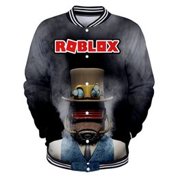 Roblox 2019 New 3D Winter Jacket Uomo / Donna Hip Hop Fashion Jacket Donna Corea Bangtan Ragazzi Fan Baseball cheap korea winter fashion women jacket da giacca di donne di moda invernale della corea fornitori