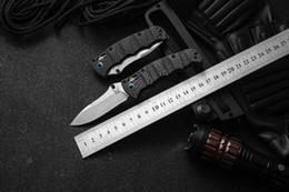Embalagem de fibras on-line-High-end de fibra de carbono punho Avançado faca dobrável Banco BM fez 484S-1 lâmina M390 embalagem Completa 1 pc