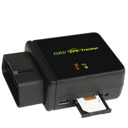 Obd car tracker online-GPS für Autos / Fahrzeug GPS GSM GPRS Tracking OBD II Fahrzeug Tracker Goole SMS Echtzeit-Tracking