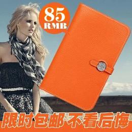 broches de penas laranja Desconto Luxo H marca carteira carteira bolsa da mulher passaporte ID titular do cartão de crédito embreagem do couro genuíno carteira de couro bolsa da senhora do sexo feminino bonito
