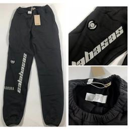 cravate étiquettes en gros Promotion 2019 Nouvelle saison 5 Sweatpants Hommes Femmes Streetwear Calabasas Broderie Pantalons Ouest Joggers cordonnet Saison 5 Sweatpants