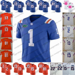 gator football jerseys Coupons - 2019 New Arrival Retro Florida Gators #22 Chris Steele 26 John Hins 43 Nicolas Sutton Blue Men Youth Kid Pink Football Jersey 4XL
