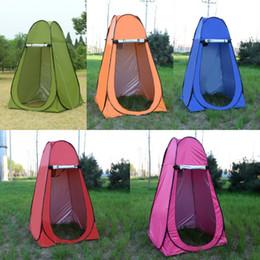 Tentes de chambre en Ligne-Tente adulte Bain en plein air Douche Bain épaississement Couverture de pansement d'essai Déplacement simple et facile Toilette Portable Vestiaire 50bg dd
