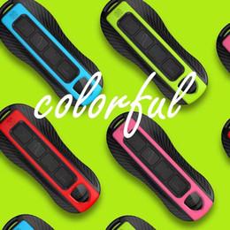 cáscara del caso del mando a distancia nissan Rebajas 2019 Panamera Smart Remote Key Key Cover Fob para Porsche Boxster Soporte para coche Entrada llavero Shell Colorfu envío gratis