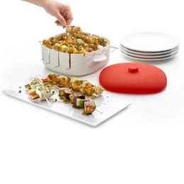 einweg-kuchen dosen Rabatt Silikon Kabob Herd Mini-Spieße Hersteller für Kebab Tikka Maker mit Bambus-Stick