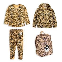 Senhor 2019 verão da criança do bebê menino roupas choses meninos clothing leopardo meninas boutique outfits conjuntos de crianças menina tops crianças traje j190508 de