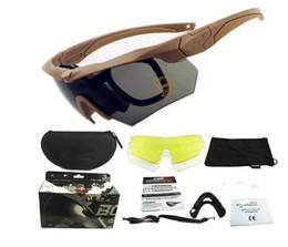 Erkekler polarize len Spor ABD ordusu taktik gözlük 3 lens ESS Crossbow gözlük açık havada Güneş Gözlüğü taktik balistik çekim gözlük nereden