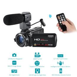 Argentina Cámara de video digital ORDRO HDV-Z20 1080 P Full HD 24MP WiFi 3.1