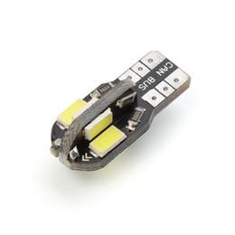Canada Ampoule intérieure de voiture led Canbus Sans erreur T10 Blanc 5730 8SMD LED 12V Côté voiture Coin Lampe blanche Lampe Auto Ampoule Car Styling Offre