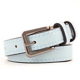 26b1c3bc651ff 2018 style punk femmes ceintures en cuir PU femme noir rose large ceinture  ceintures jeans vêtements décorations SE66 cheap pink belt women wide