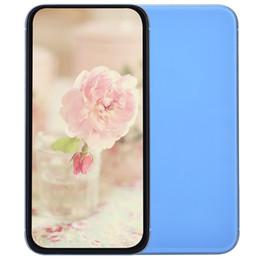 Wholesale Pas cher G WCDMA Goophone XR V3 Quad Core MTK6580 GB GB ID de visage recharge sans fil pouces tout écran GPS WiFi Dual Nano Carte SIM Smartphone