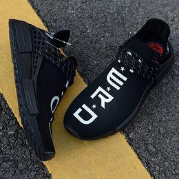save off bd91b 4fa73 Pharrell NERD Human Race NMD TR BB7603 Friends Family Borgogna Uomo Womens  Running Shoes CC Nero Bianco Sport Designer Sneakers Taglia 5-11 scarpe  amici ...