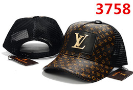 2020 sombreros de mujer francés 2018 francés popular ICON cap Hip Hop verano Gorra de béisbol Sombrero de metal Letra L Gorras para hombres Mujeres snapback marca cap sombreros de mujer francés baratos