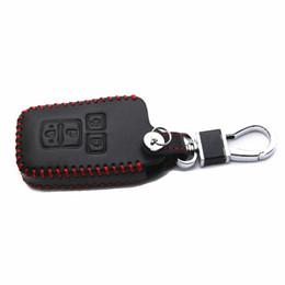 JY Hakiki Deri Uzaktan Anahtar Çanta Araba Akıllı Anahtar Kılıfı Toyota Toyota Voxy R80 2014-2017 Için Kapak Aksesuarları supplier toyota bags nereden toyota çantaları tedarikçiler