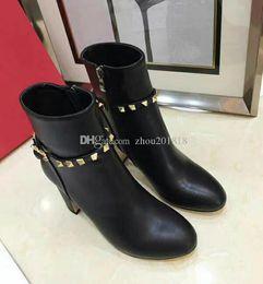 2019 zapatos de tacón uk Favofans para mujer Faux Suede punta estrecha zapatos Slim alto talón Zip con cordones botines FF-B681 EE. UU. Reino Unido EUR Tamaño personalizado 35-41 zapatos de tacón uk baratos
