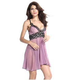 Schiere nachthemden online-Sheer S-6XL Plus Size Sexy Dessous Stickerei Nachthemd Frauen Sexy Unterwäsche Top Bh Sexy Babydoll
