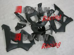 Kits de carenado honda cbr 929rr online-Carenados de motocicleta ABS de alta calidad nuevos aptos para HONDA CBR 929RR 929 2000 2001 CBR929RR 00 01 CBR 900RR kits de carenado negro mate personalizado