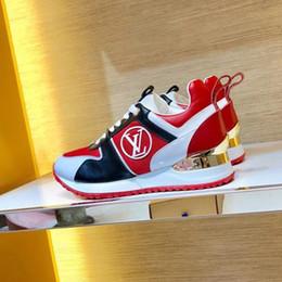 Zapato de correr online-Zapatillas de deporte para mujer Zapatos casuales Zapatos para correr transpirables Plataforma de verano Cuñas Mocasín Exclusivo digital Run Away Sneaker Zapatos de mujer Drop Ship