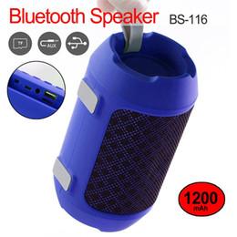 Canada BS116 Mini haut-parleur portable haut-parleur sans fil multi-fonction Bluetooth stéréo effet basse grave haut-parleurs extérieurs cheap multi bluetooth speakers Offre
