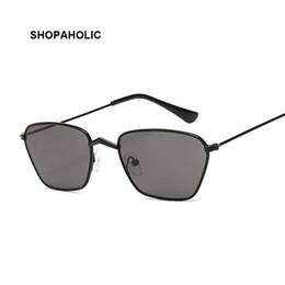 Сексуальные черные женские очки онлайн-Women Cat Eye Sunglasses Cute Sexy  Designer Summer Retro Small Frame Black Red Cateye Sun Glasses