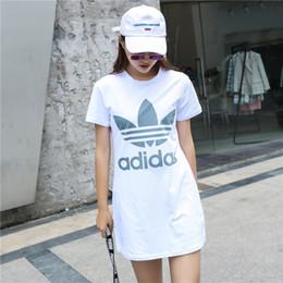 b03136f6fa56c 2019 спортивные летние платья Deisgner платья для женщин лето новый бренд  женщин спортивный стиль платья женщин