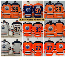 2f50fcd3640 Discount kids connor mcdavid jersey - 2019 Youth Edmonton Oilers Hockey  Jerseys 99 Wayne Gretzky 97