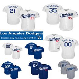 2019 trikot 27 Custom LA Dodgers Trikot 27 Alex Verdugo 22 Clayton Kershaw 5 Corey Seager 21 Walker Bühler Kike Hernandez Cody Bellinger Martin Trikots rabatt trikot 27