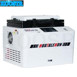 vakuum-laminiermaschine Rabatt T14M 14 Zoll Curved Screen Vacuum Laminating und Bubble Removing Machine Laminator und Debubbler für die Reparatur von LCD-Bildschirmen