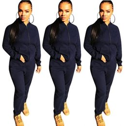 fa0fd0a11e women long sleeve tracksuit jacket pants sportswear hoodie legging 2 piece  set sweat suit outerwear tights outfits sweat suit hot klw0339
