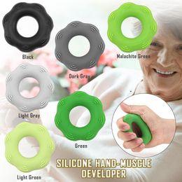 medidores de resistencia Rebajas Mano de silicona - Desarrollador muscular Anillo de resistencia de la mano con punto saliente Anillo de masaje Fitness Grip Pinch Meter