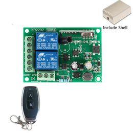 Rf modulo relè online-50pcs 433Mhz universale telecomando senza fili Interruttore 250V AC 110V 220V 2CH Relay modulo ricevente e 4PCS RF