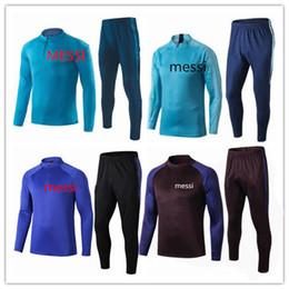 Messi Suarez eğitim kıyafeti cutino rengi 2019/2020 eşofman külotlu çorapları eğitmenler spor Messi eşofman 2019/2020 Barcelonas kazak S-3XL cheap l track nereden ben takip ederim tedarikçiler