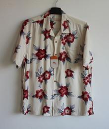 Camisas Çiçek Masculina Ipek Kısa Kollu Baskı Beyaz Çiçek Hawaii Gömlek Erkekler 2XB Artı Boyutu Büyük supplier big silk shirts men nereden büyük ipek gömlek erkek tedarikçiler
