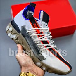 Zapatos para correr a mediados online-React WR Low Mid Ispa Sneakers de alta calidad al aire libre Hombres Mujeres Reacciona Diseñador Trainer Element 87s Zapatos para correr ocasionales 36-45 con caja